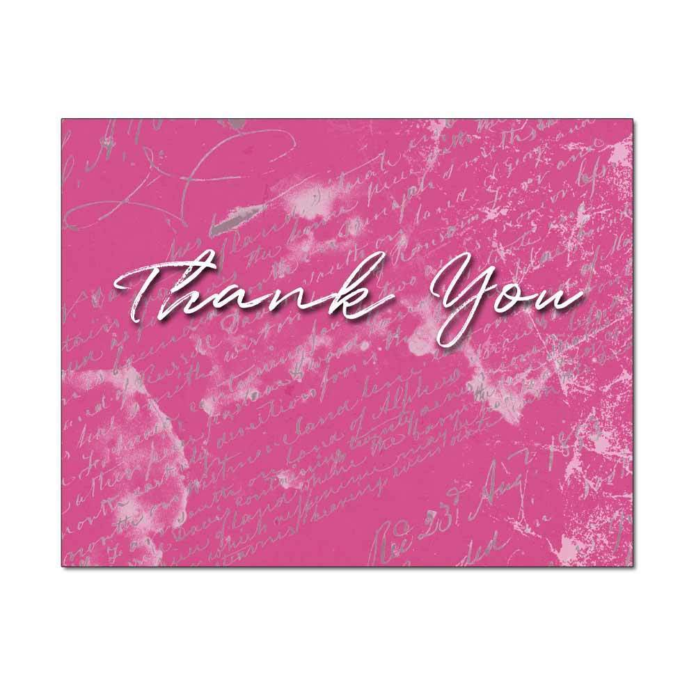 Scribbled Thank You Note Card