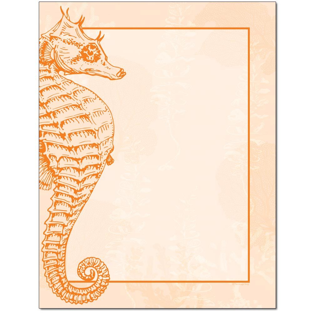 Seahorse Letterhead