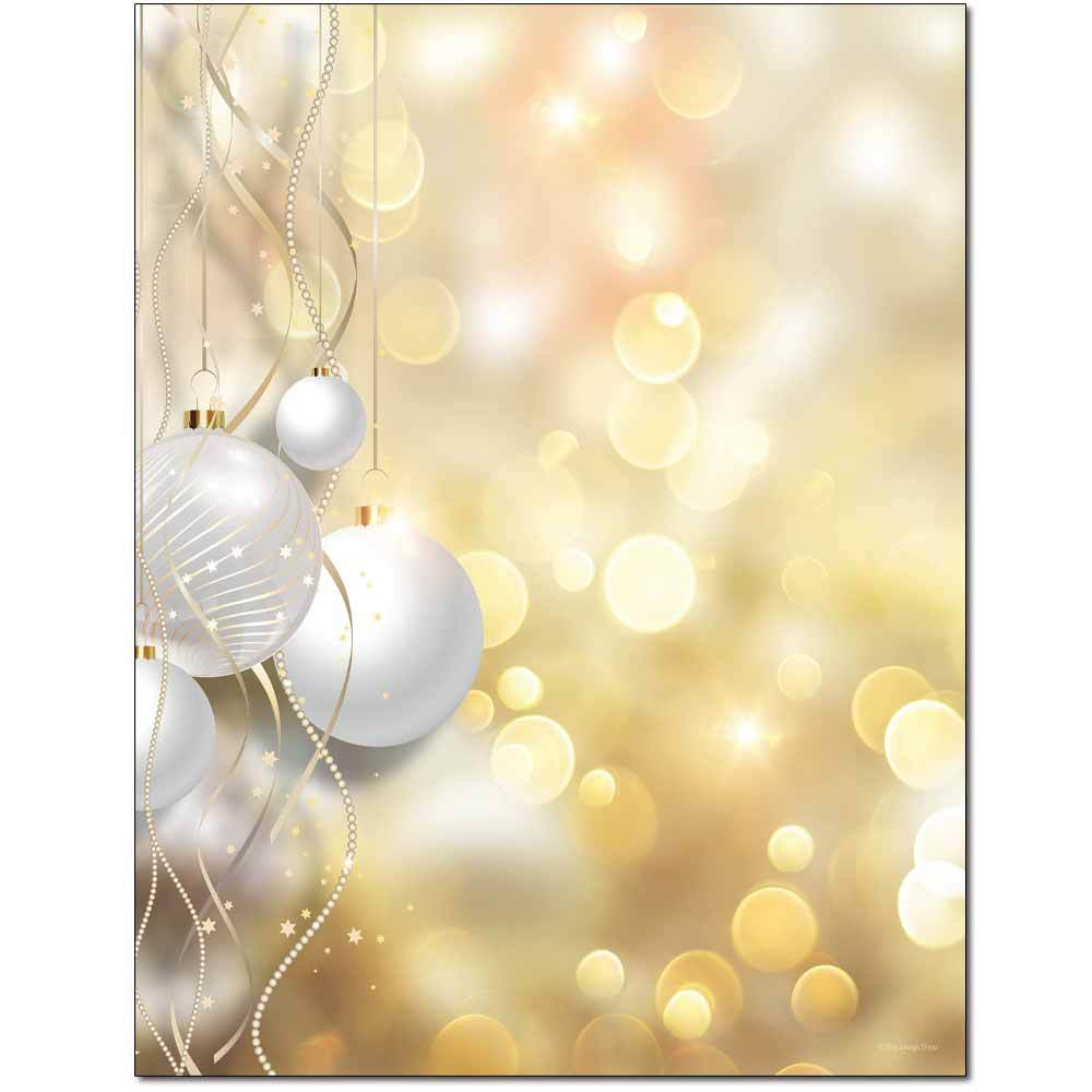 Seasonal Celebration Letterhead