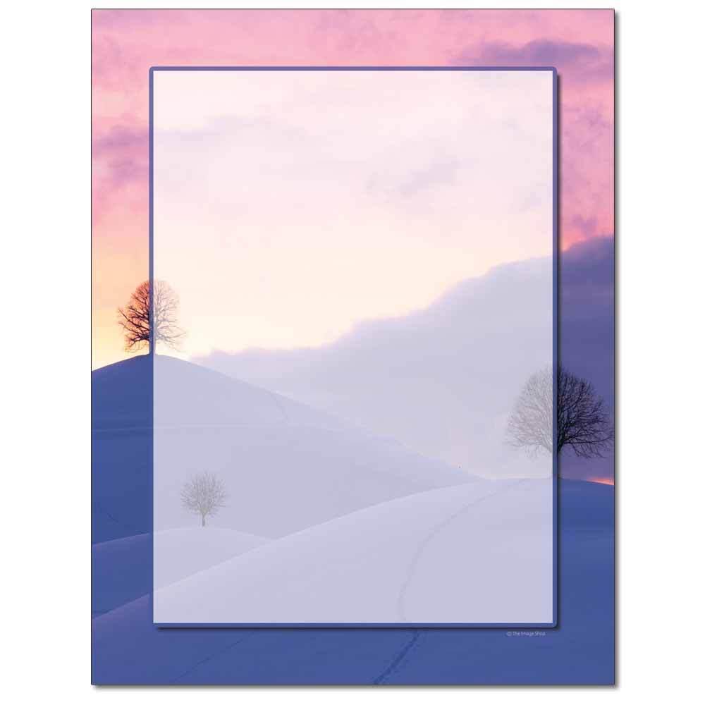 Shades Of Winter Letterhead