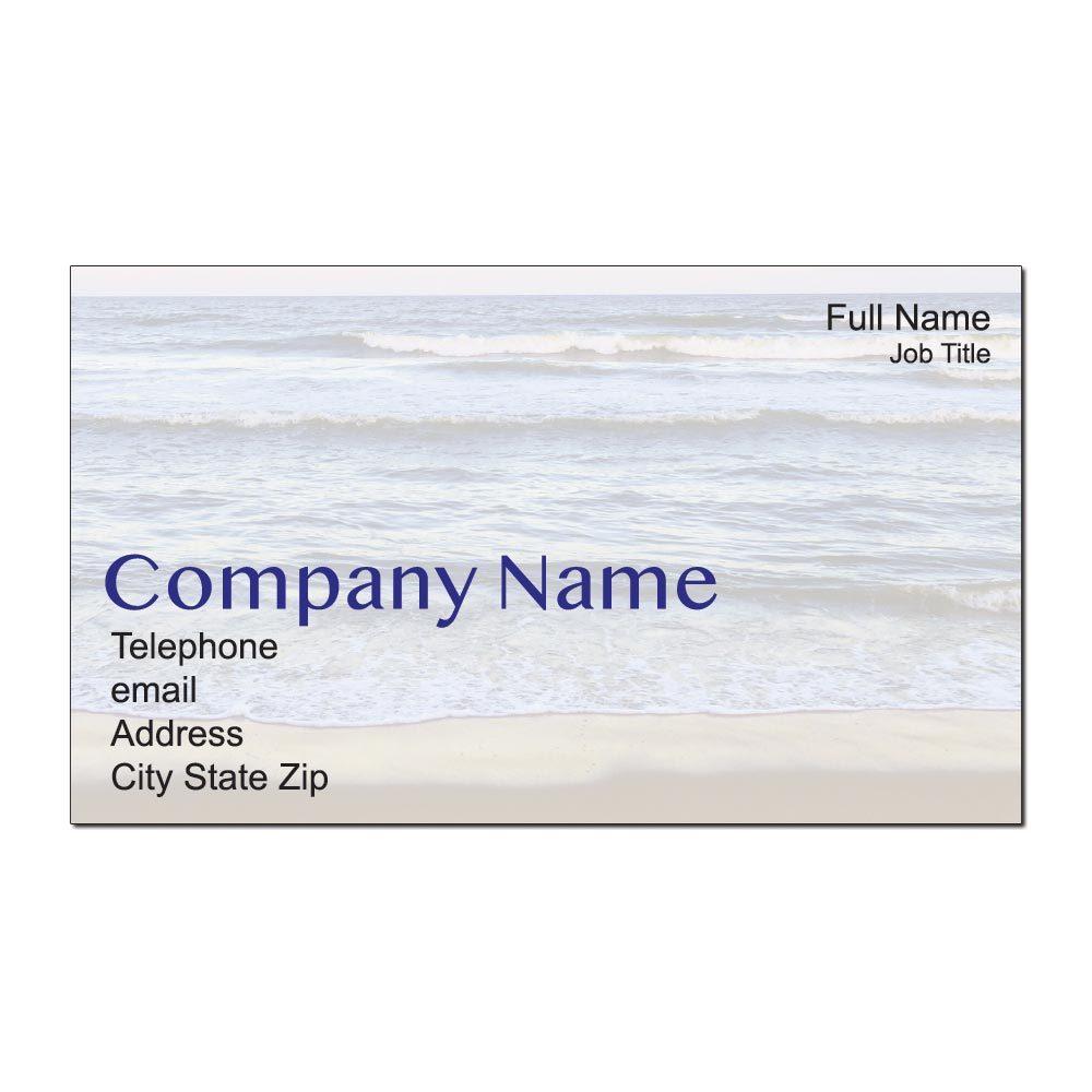 Shoreline Custom Business Cards
