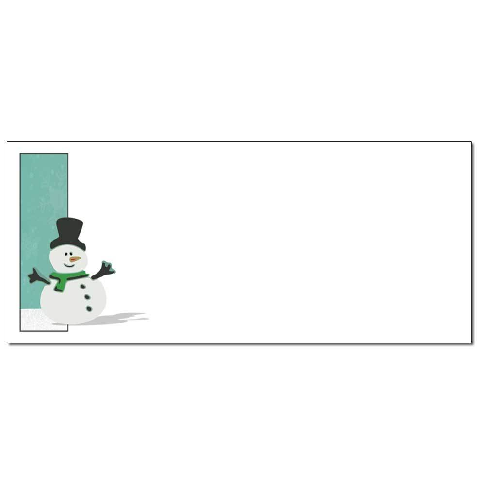 Silly Snowman Envelopes