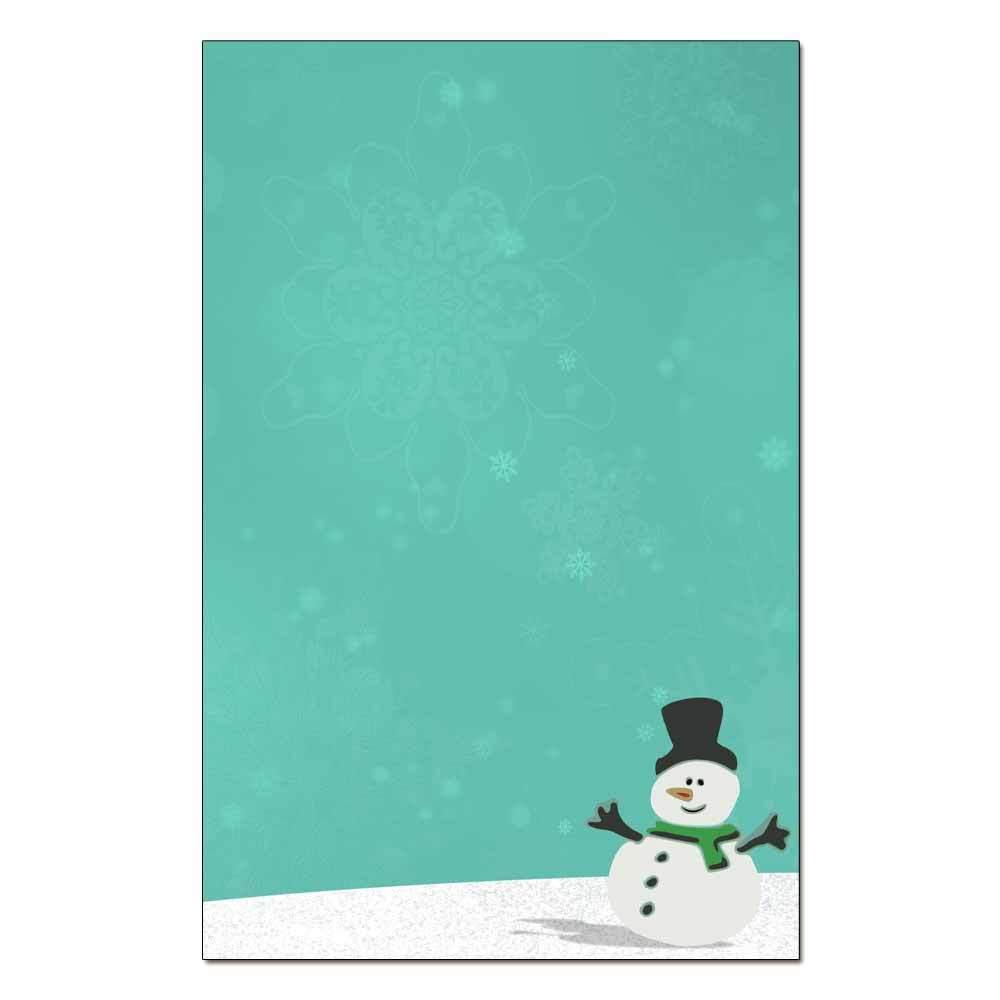 Silly Snowman Jumbo Cards 48pk