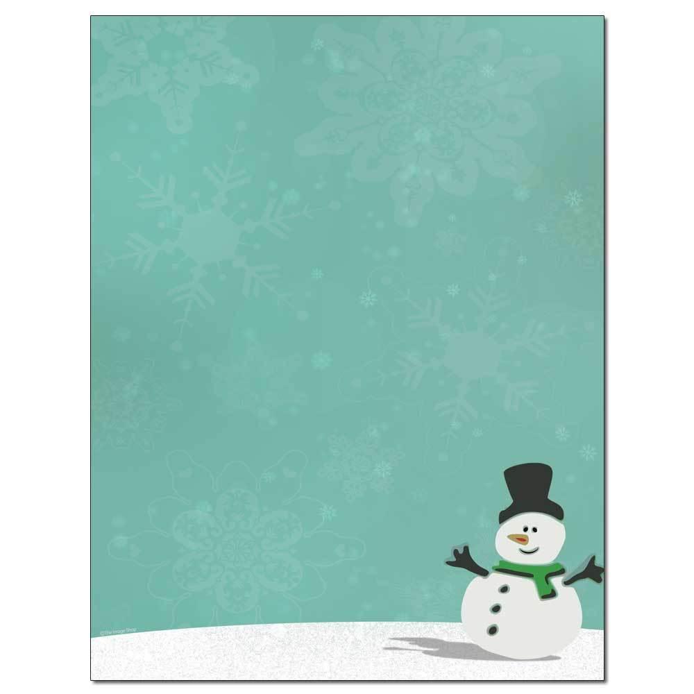 Silly Snowman Letterhead