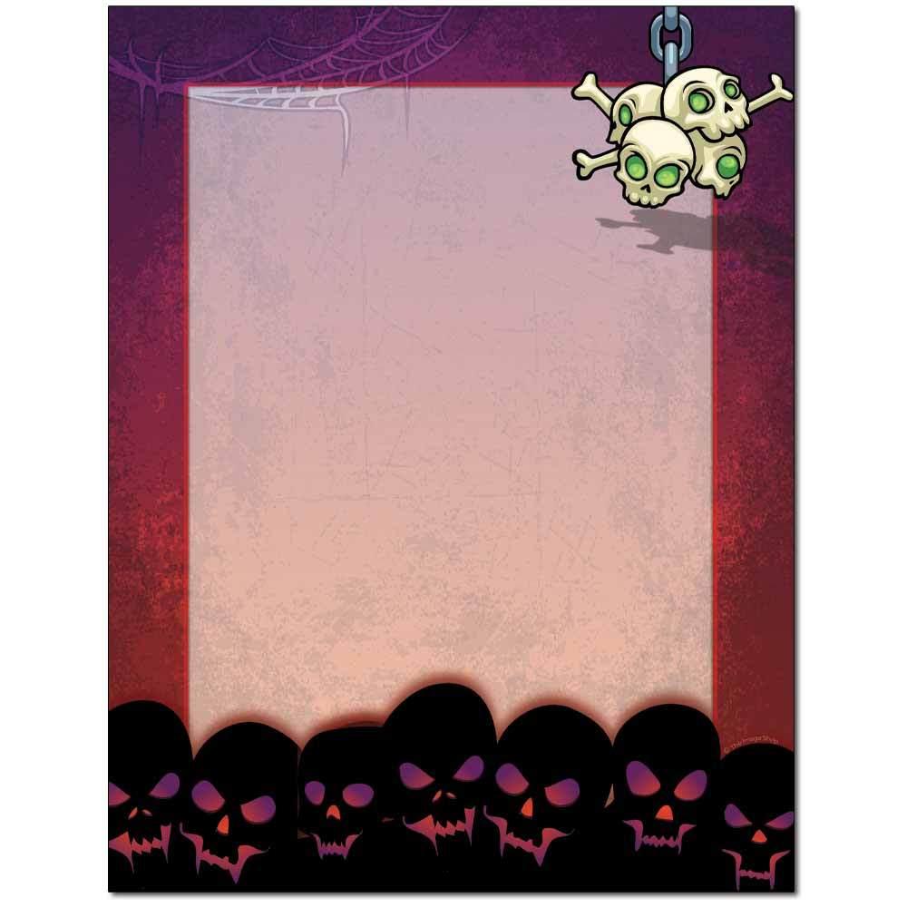 Skulls Letterhead