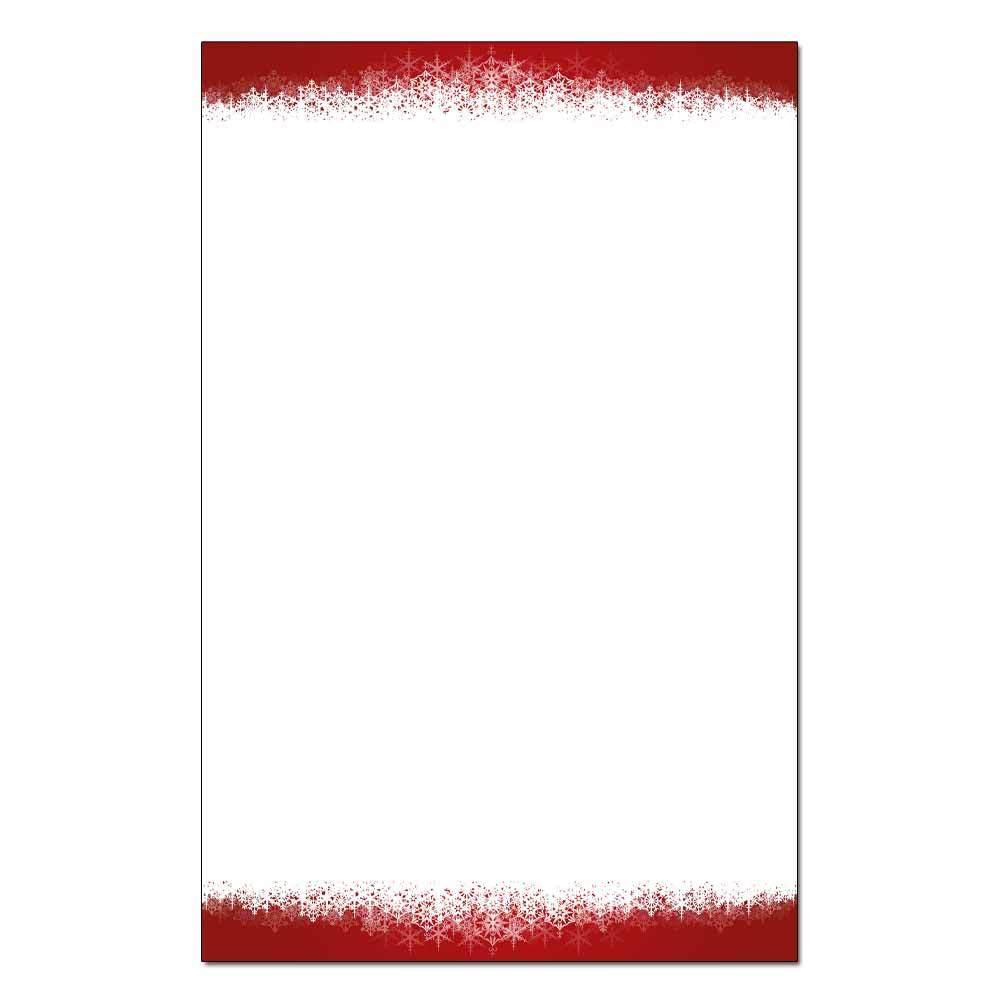 Snowflakes Jumbo Cards 48pk