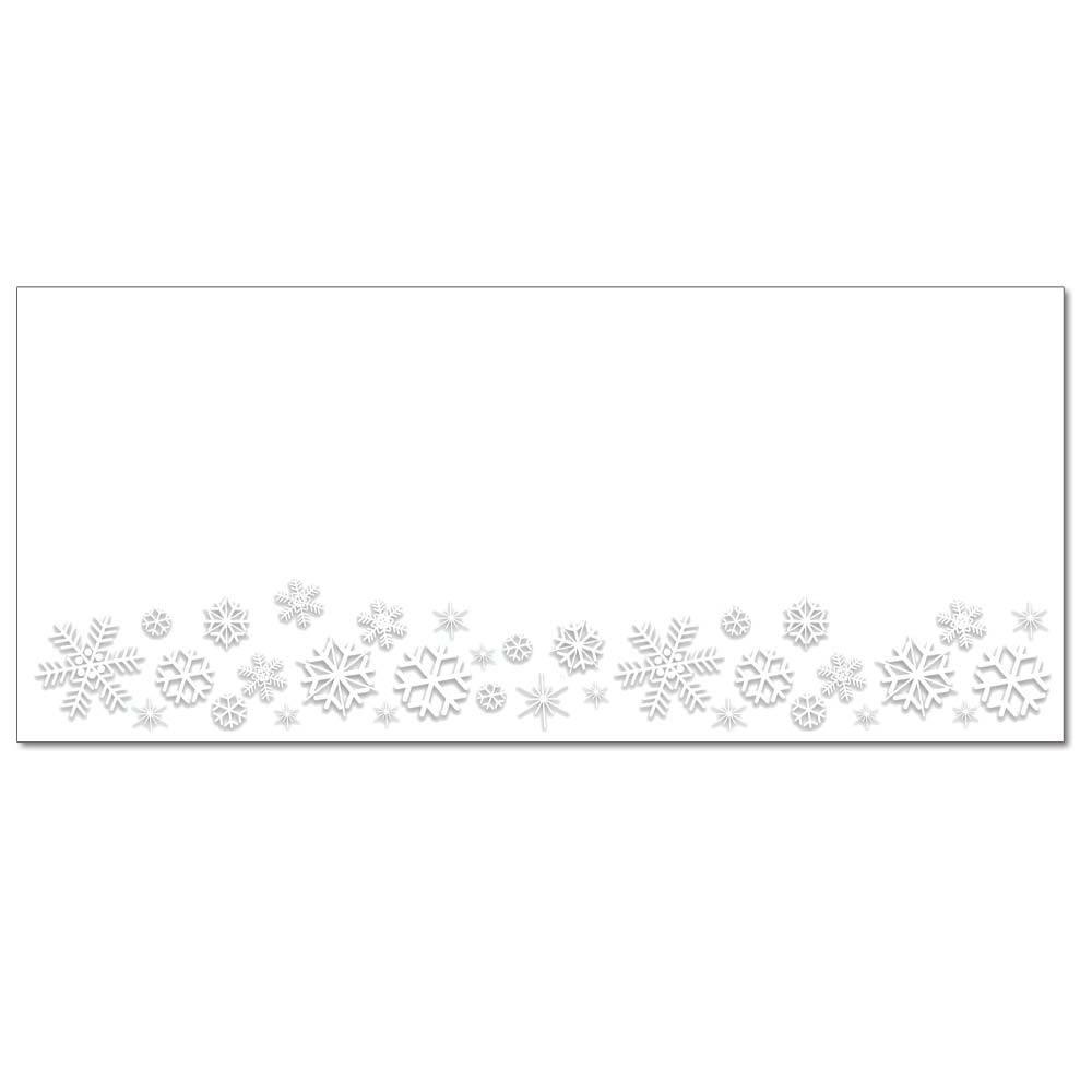 Snowy Flakes Envelopes