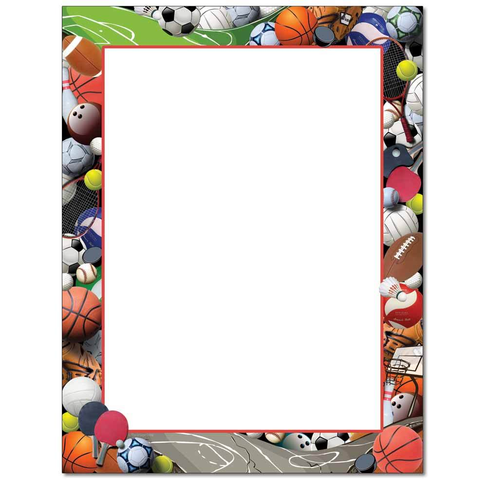 Sports Equipment Letterhead