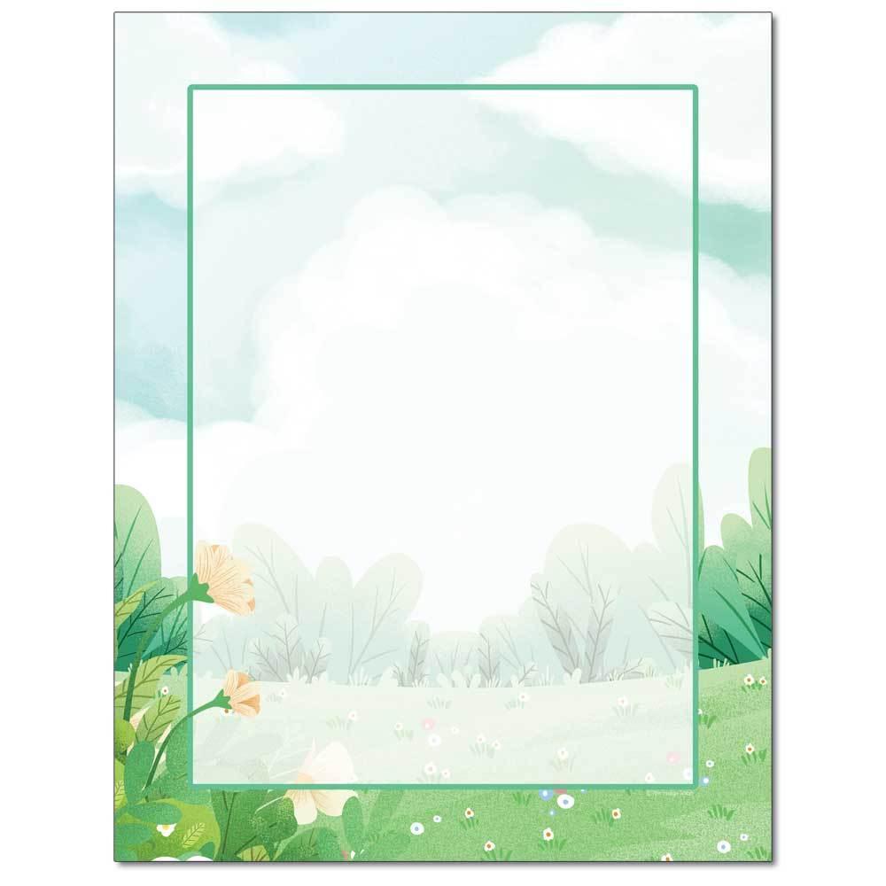Spring Field Letterhead