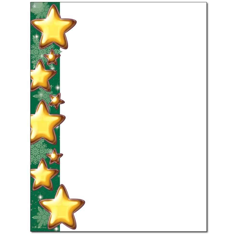 Stars & Flakes Letterhead