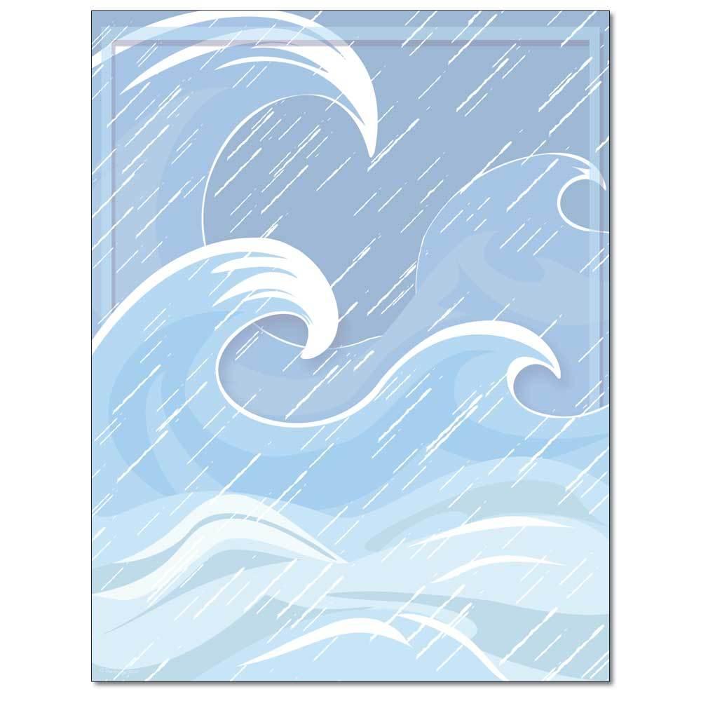 Stormy Seas Letterhead