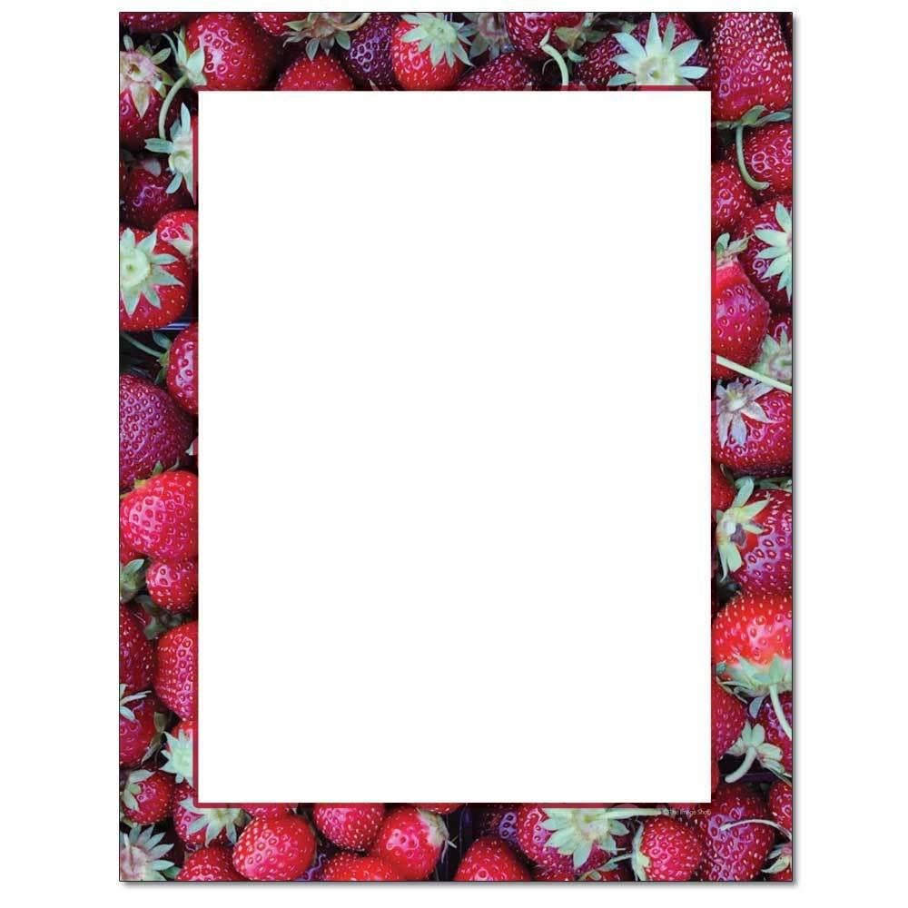 Strawberry Basket Letterhead