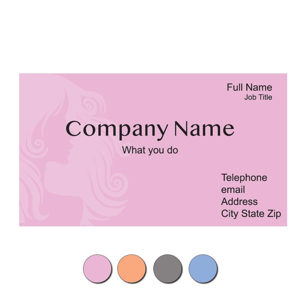 Stylin' Custom Business Cards