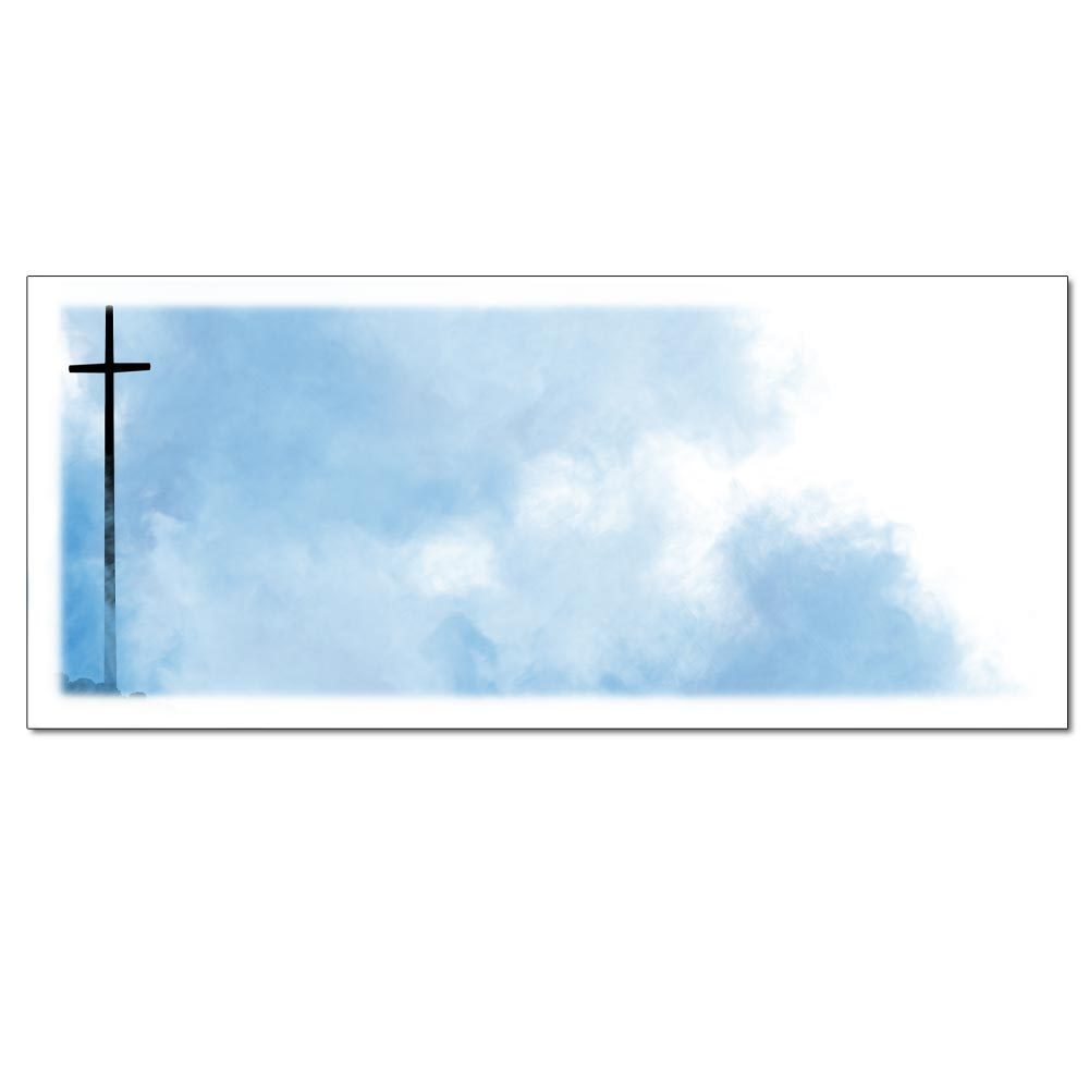 Tall Cross Envelopes