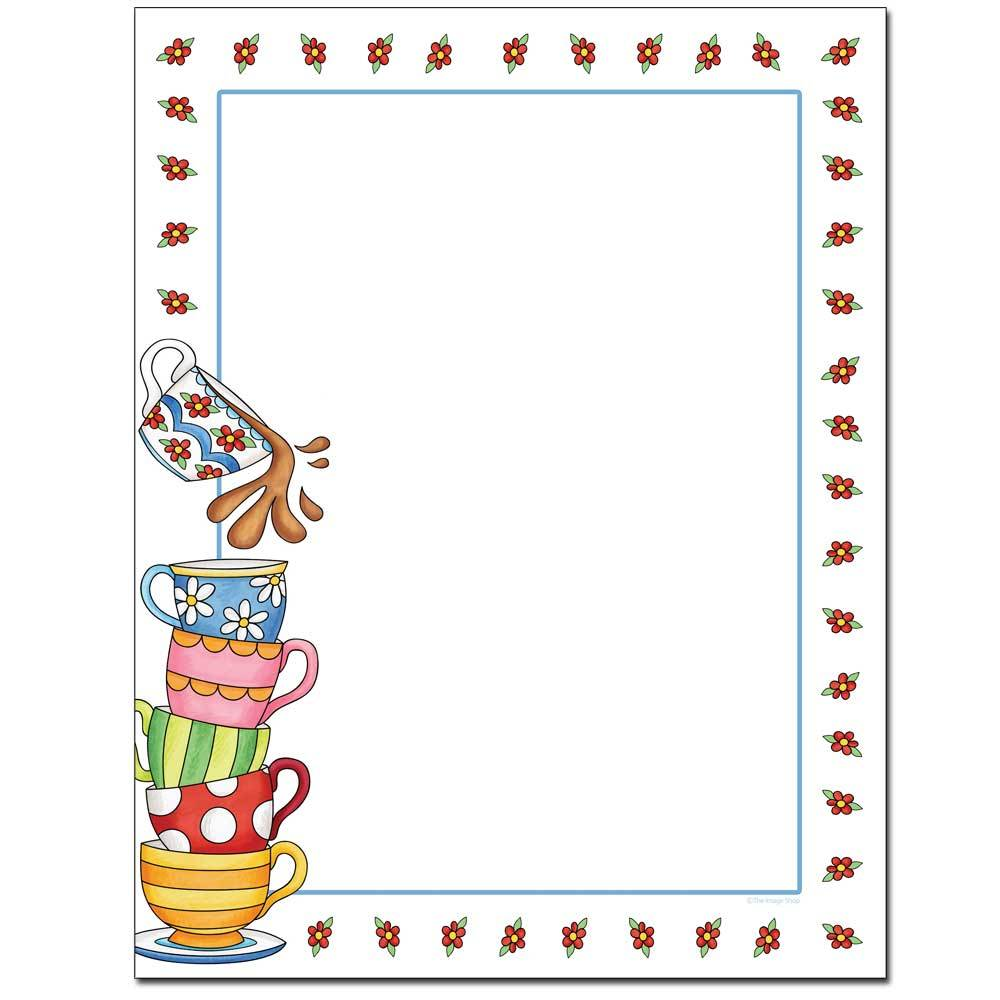 Tea Party Letterhead