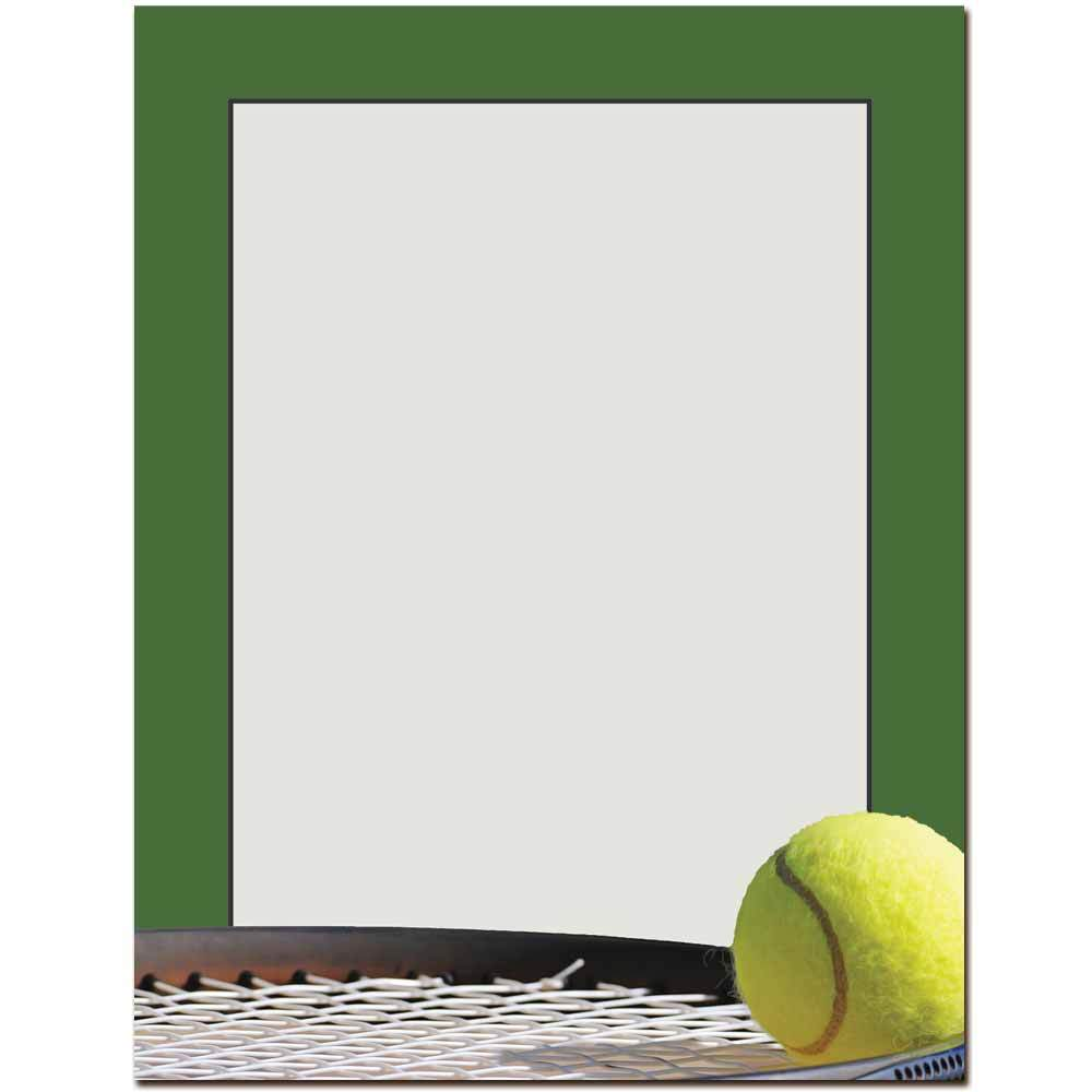 Tennis Letterhead