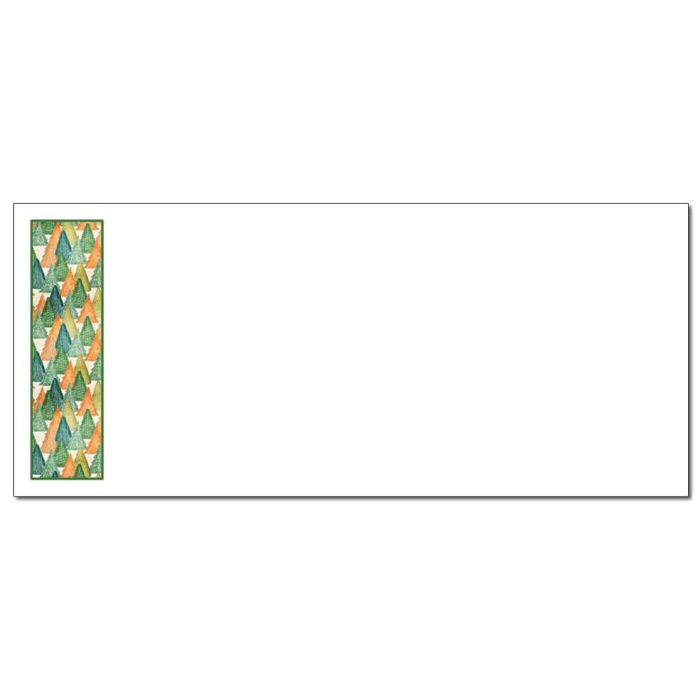 Tree Border Envelopes