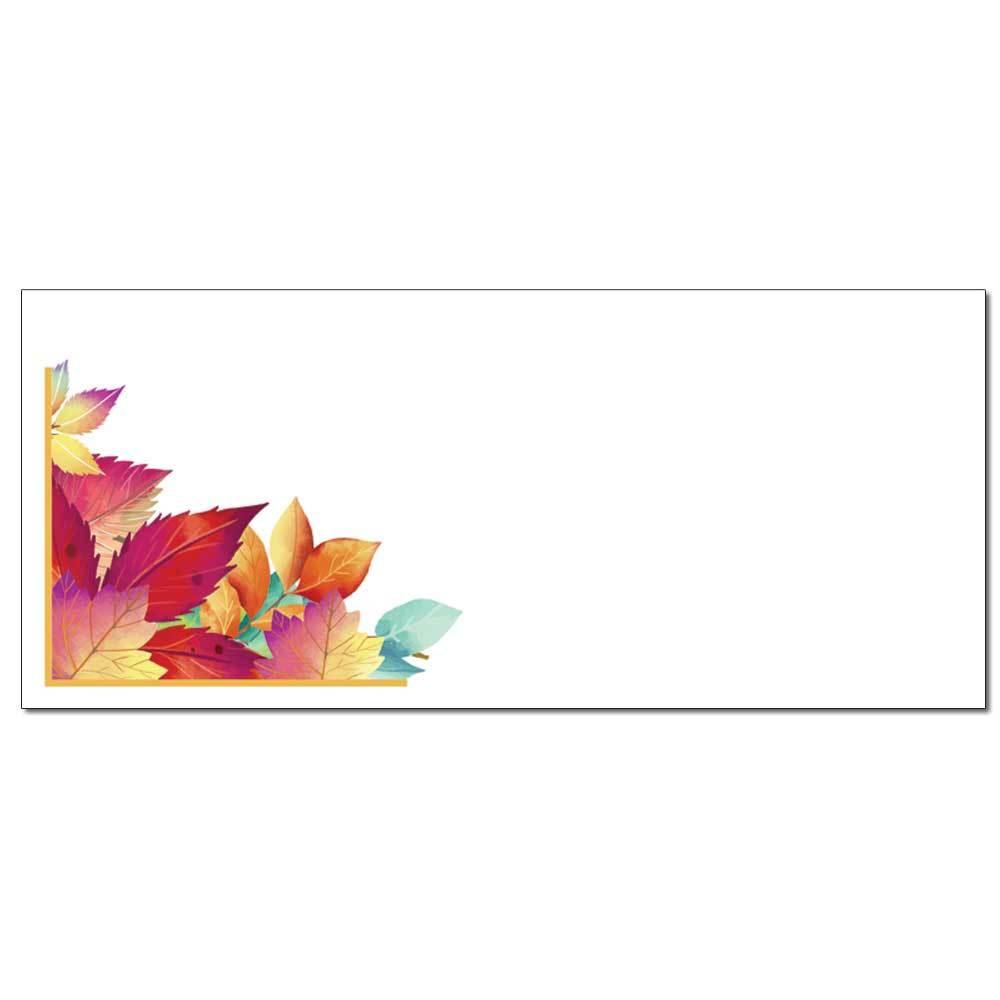 Turning Leaves Envelopes