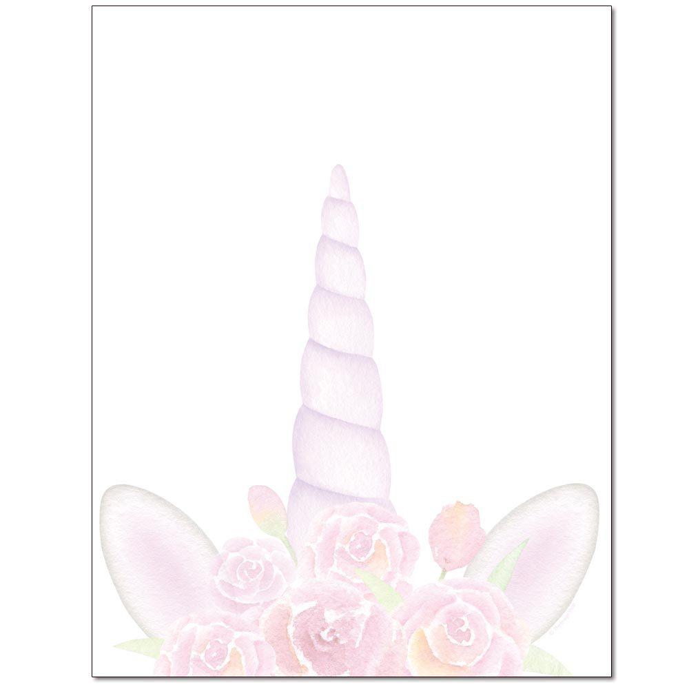 Unicorn Horn Letterhead