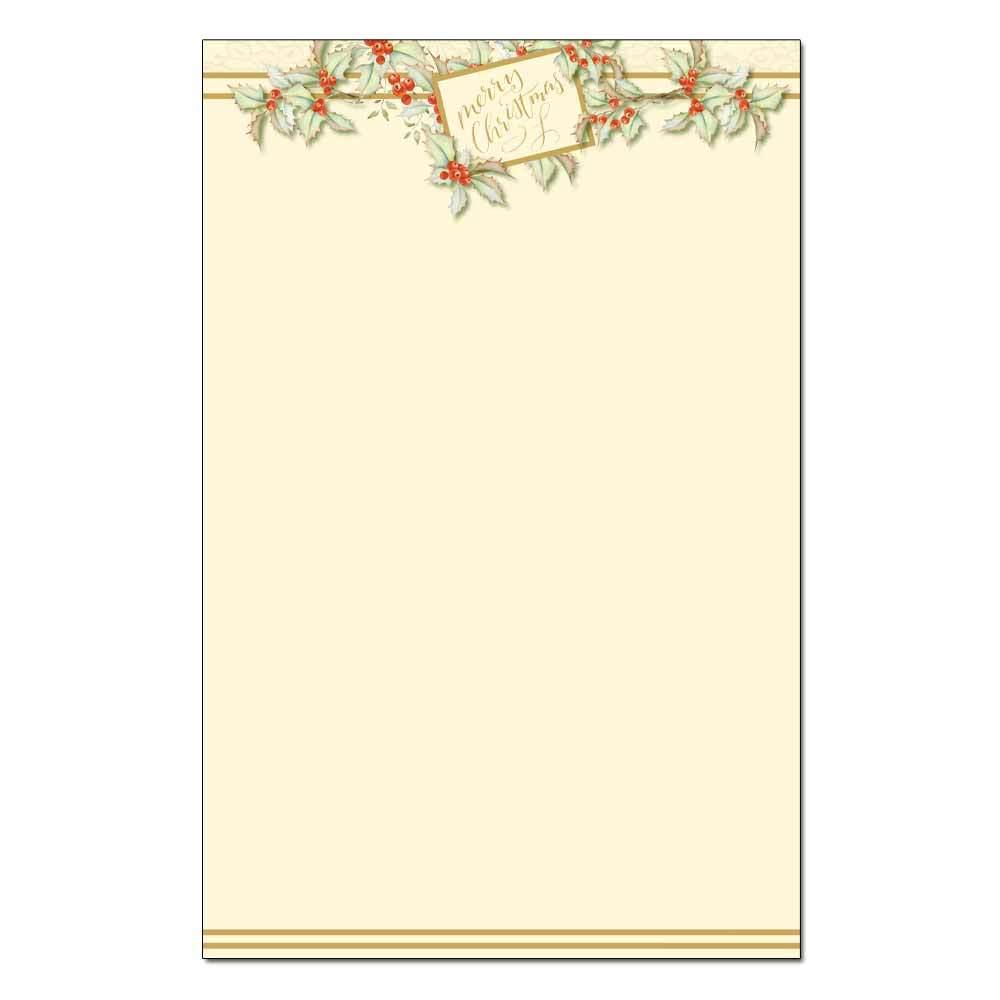 Vintage Christmas Jumbo Cards 48pk