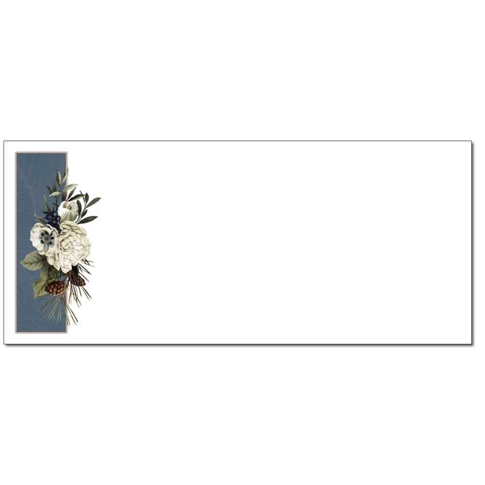 Winter Bouquet Envelopes