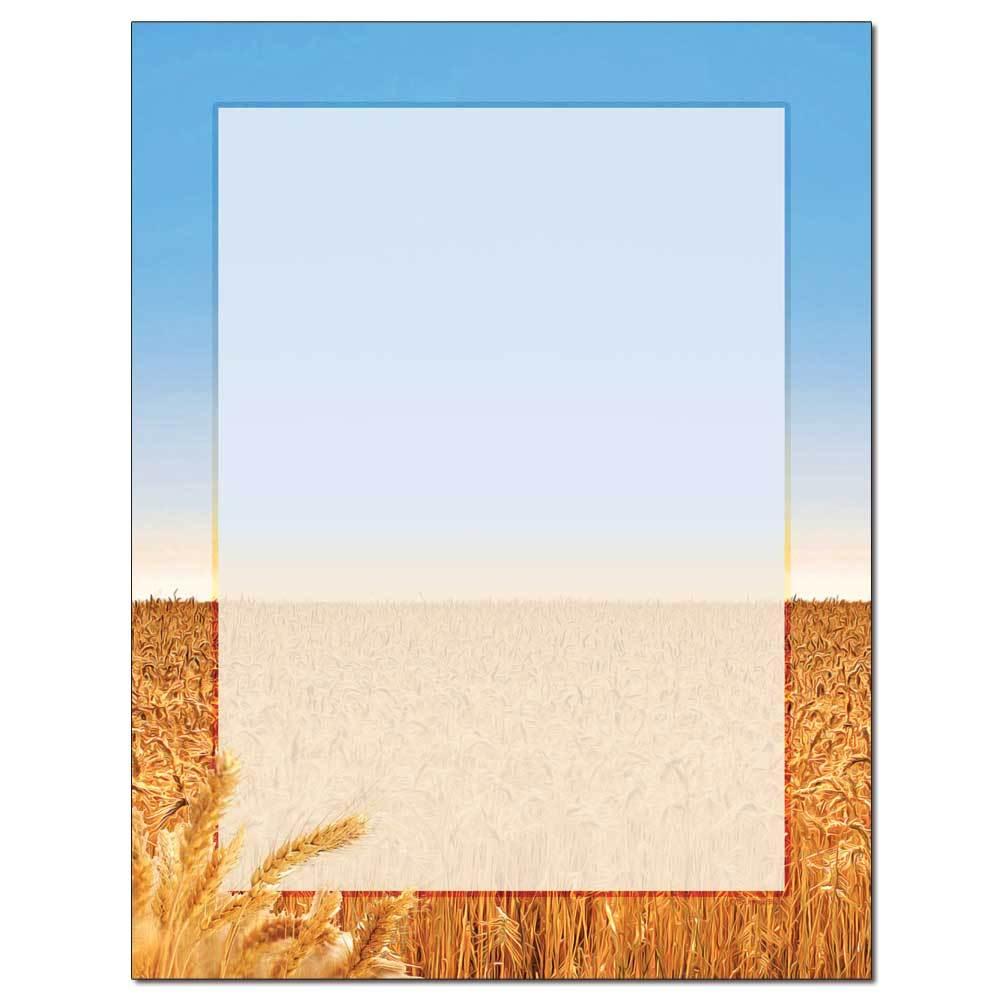 Wheat Field Letterhead