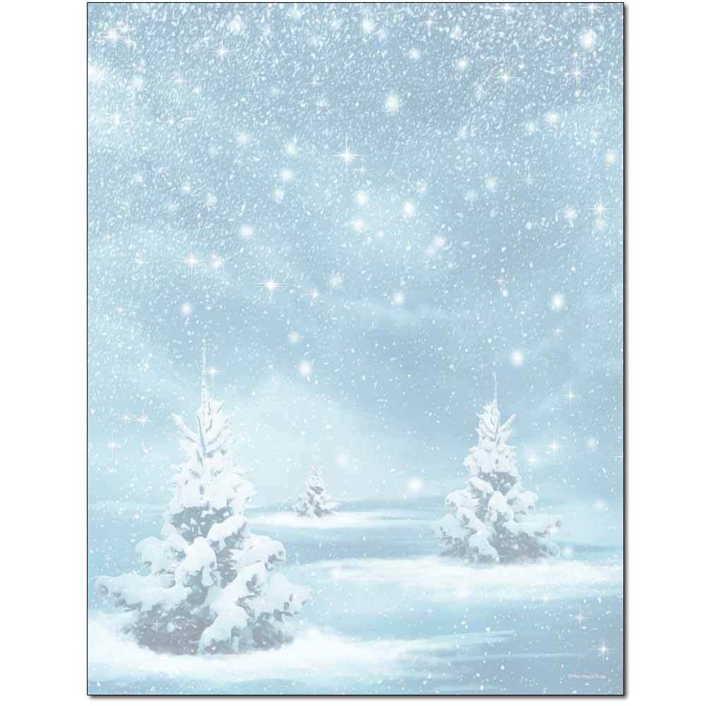 Winter Magic Letterhead