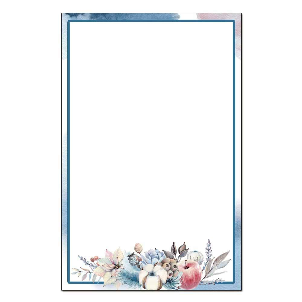 Winter's Blush Jumbo Cards 48pk