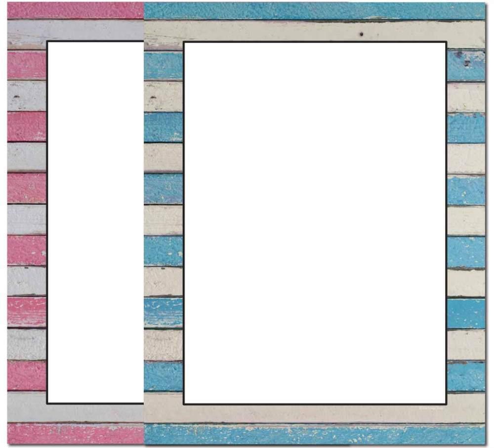 Wooden Stripes Letterhead
