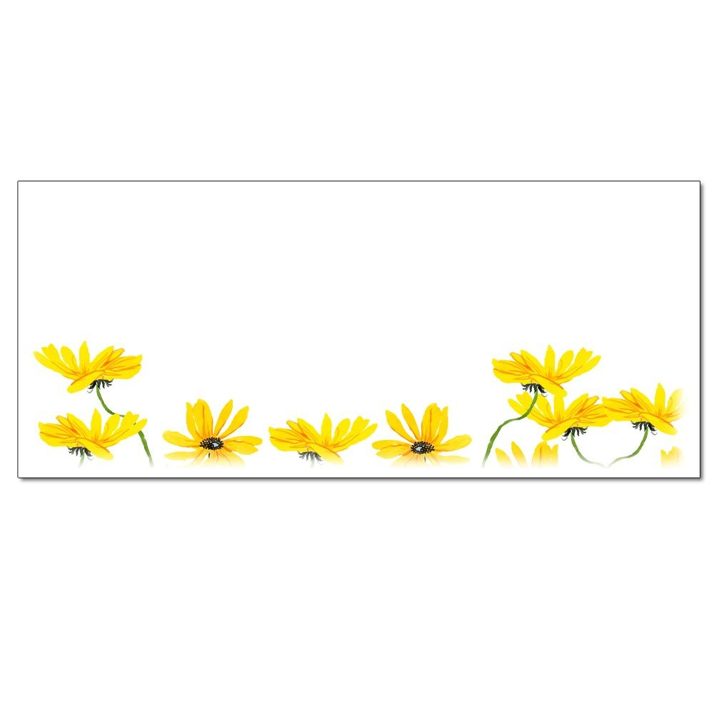 Yellow Daisies Envelopes