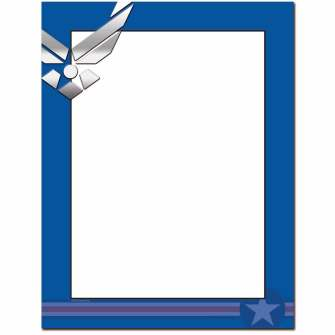 Air Force Letterhead - 100 pack