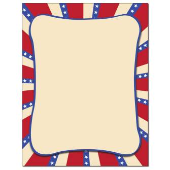 Americana Letterhead - 100 pack