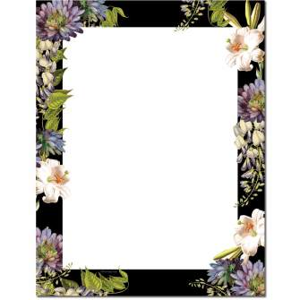 Antique Botanicals Letterhead - 25 pack
