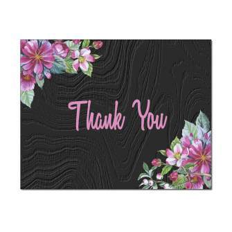 Apple Blossoms Thank You Card