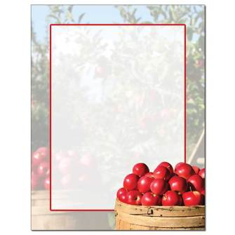 Apple Orchard Letterhead - 100 pack