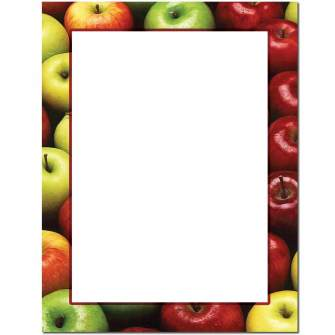 Apples Letterhead - 25 pack