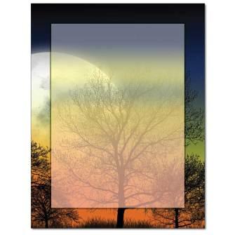 Autumn Moon Letterhead - 25 pack