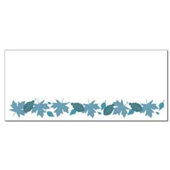 Autumn In Blue Envelopes