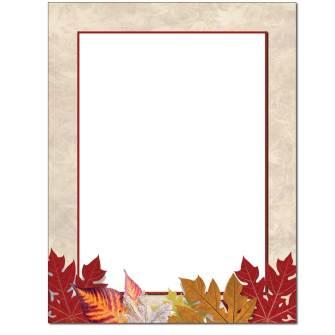 Autumnal Letterhead - 100 pack