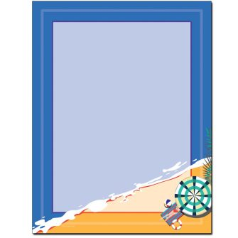 Beach Day Letterhead