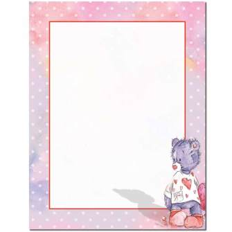Best Friend Letterhead - 100 pack