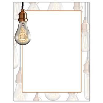 Bright Idea Letterhead - 25 pack