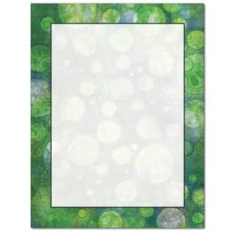 Bubble Border Letterhead - 25 pack