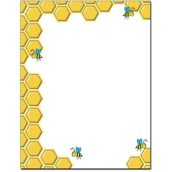 Busy Bees Letterhead - 25 pack