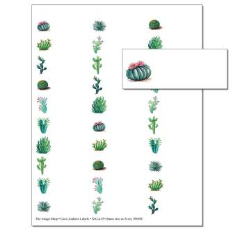 Cacti Address Labels