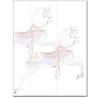 Carousel Horses Letterhead