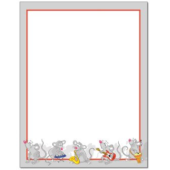Cat's Away Letterhead - 25 pack