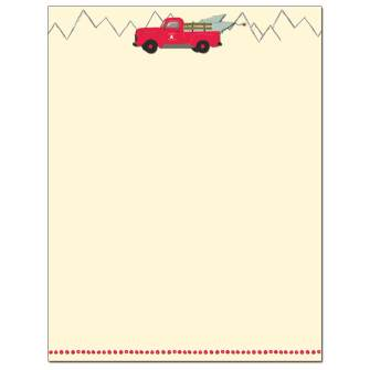 Cheerful Delivery Letterhead - 25 pack