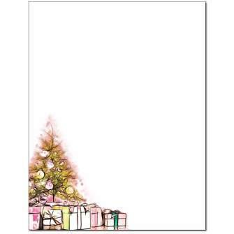 Chic Tree Letterhead - 25 pack
