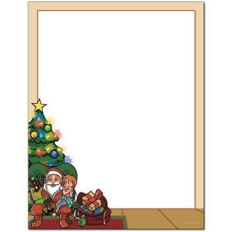 Christmas Wishes Letterhead